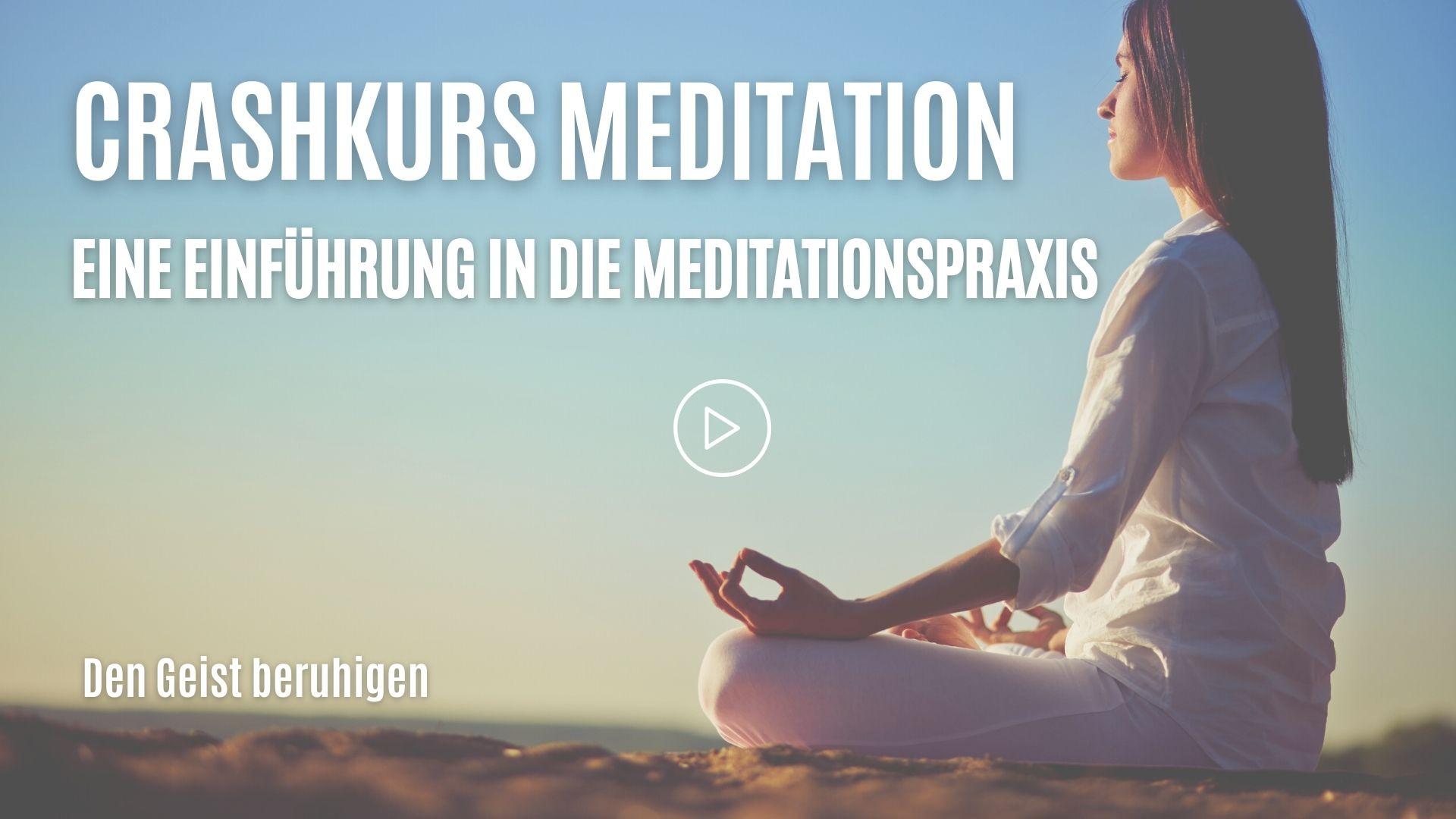Crashkurs Meditation Newsletter